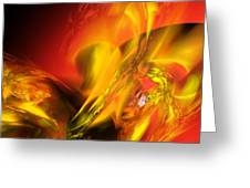 Solar Storm Greeting Card
