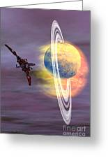 Solar Winds Greeting Card