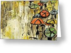 Sold Under The Weather Greeting Card