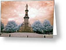 Soldier's Monument Greeting Card