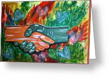 Solidariedade Greeting Card