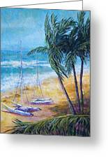 Soliman Bay Greeting Card