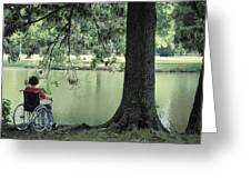 Solitude And The Lonely Heart Greeting Card