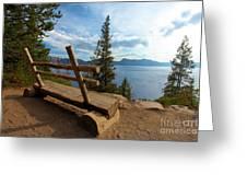 Solitude At Crater Lake Greeting Card