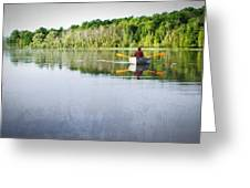 Solitude On Susan Lake Greeting Card
