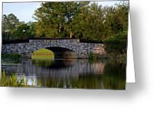Solivita Stone Bridge Greeting Card