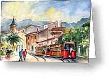 Soller In Majorca 01 Greeting Card