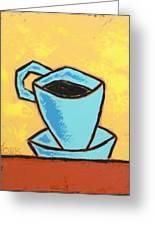 Solo Coffee I Greeting Card