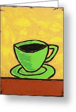 Solo Coffee II Greeting Card