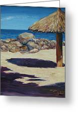 Solo Palapa Greeting Card