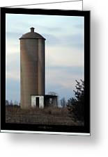 Solo Silo Greeting Card