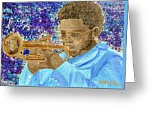 Solo Trumpet Greeting Card