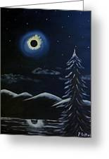 Solor Eclipse Greeting Card