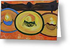 Sombreros Greeting Card
