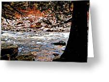 Swift River Along The Kancamagus Greeting Card