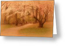 Sometimes - Holmdel Park Greeting Card