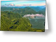 Over Alaska - June  Greeting Card