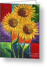 Sonflowers I Greeting Card