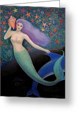 Song Of The Sea Mermaid Greeting Card