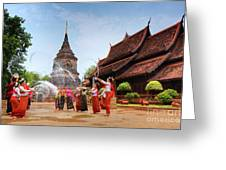 Songkran Greeting Card by Buchachon Petthanya