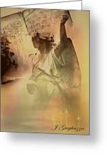 Songs Of Angels Greeting Card