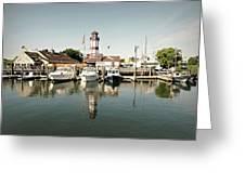 Sono Seaport Greeting Card