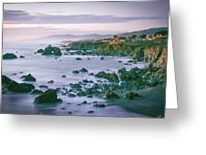 Sonoma Coast Shoreline Greeting Card