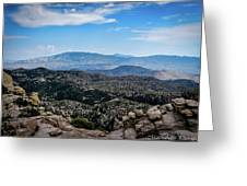 Sonoran Cliff Lookout Greeting Card