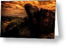 Sonoran Desert Early Morning Greeting Card