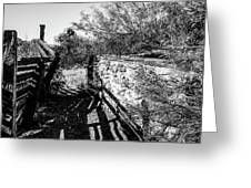 Sonoran Ghost Corral Greeting Card