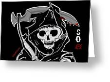 Sons Of Anarchy Logo Greeting Card