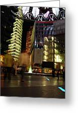 Sony Center Greeting Card