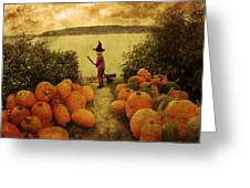Soon Halloween Greeting Card