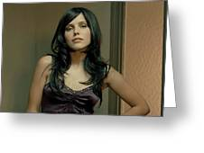 Sophia Bush Greeting Card