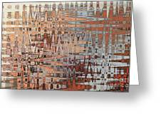 Sophisticated - Abstract Art Greeting Card