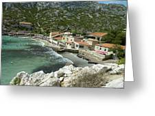 Sormiou Creek In The Calanque Greeting Card