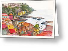 Sorrento Harbour Greeting Card