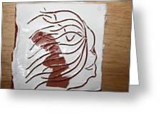 Sorrow - Tile Greeting Card