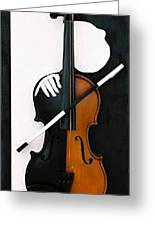 Soul Of Music Greeting Card