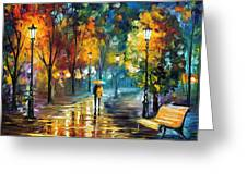 Soul Of The Rain Greeting Card