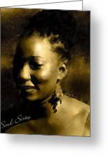 Soul Sista Greeting Card