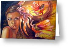 Soulfire Greeting Card