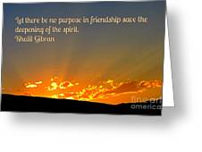 Soulful Friends Greeting Card