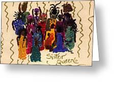 Soulful Sistahs Greeting Card