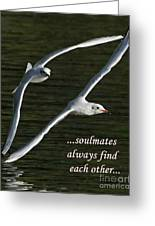 Soulmates  Greeting Card