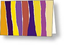 Sound Of Colors Greeting Card
