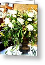 Sound Of Flowers Greeting Card