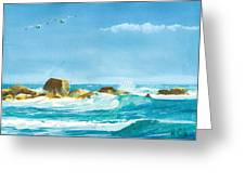 Sound Of Surf Greeting Card