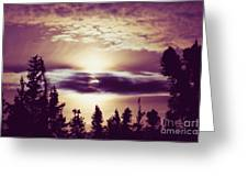 Sound Of The Sun Greeting Card