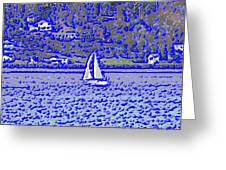 Sound Sailin 3 Greeting Card